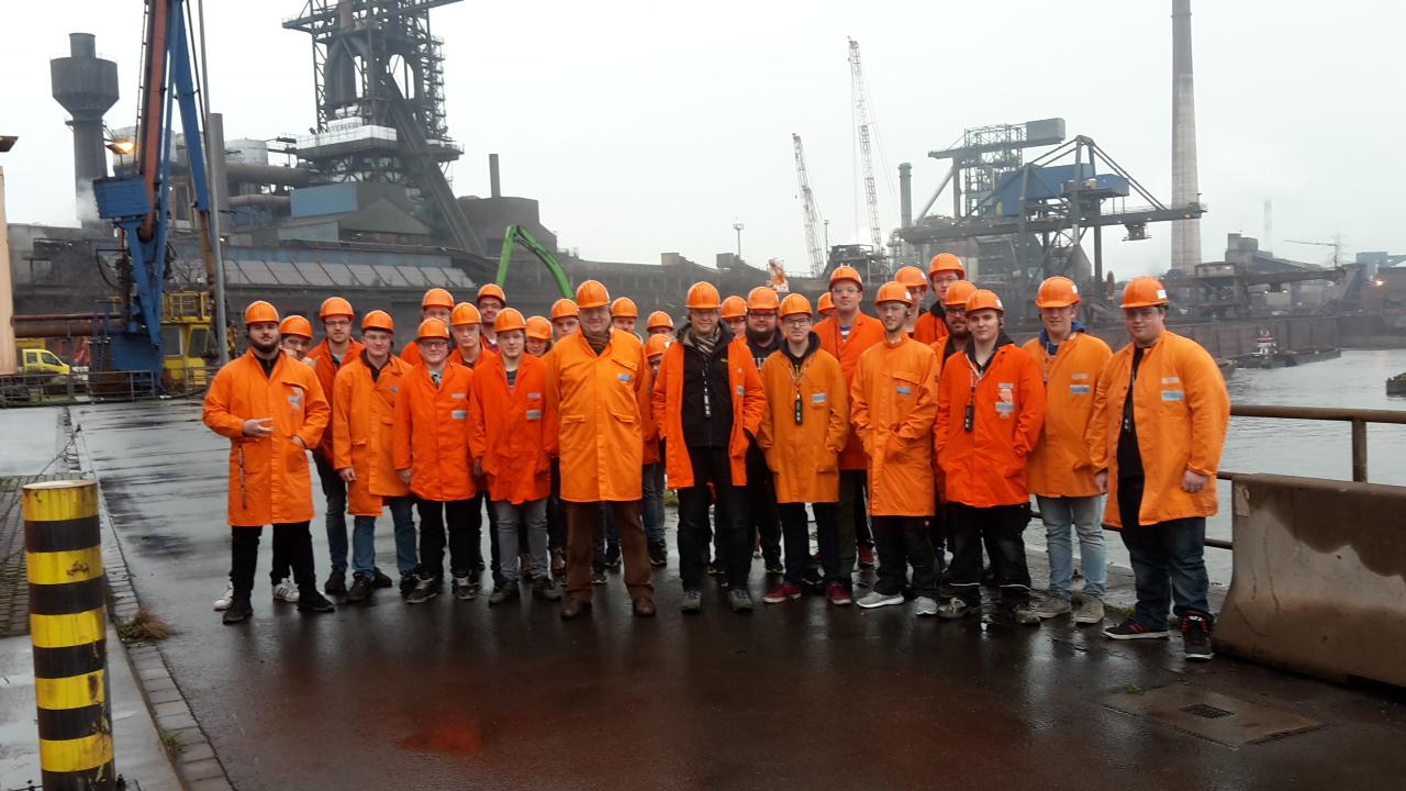 Exkursion ins HKM-Stahlwerk