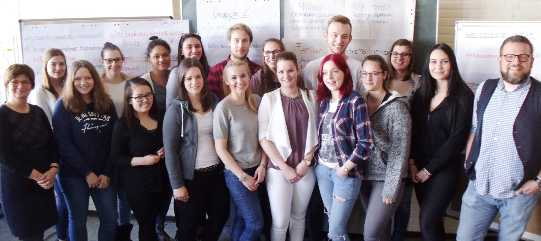 Projekttage Hospiz in den Klassen 12 der Fachoberschule Sozial- und Gesundheitswesen