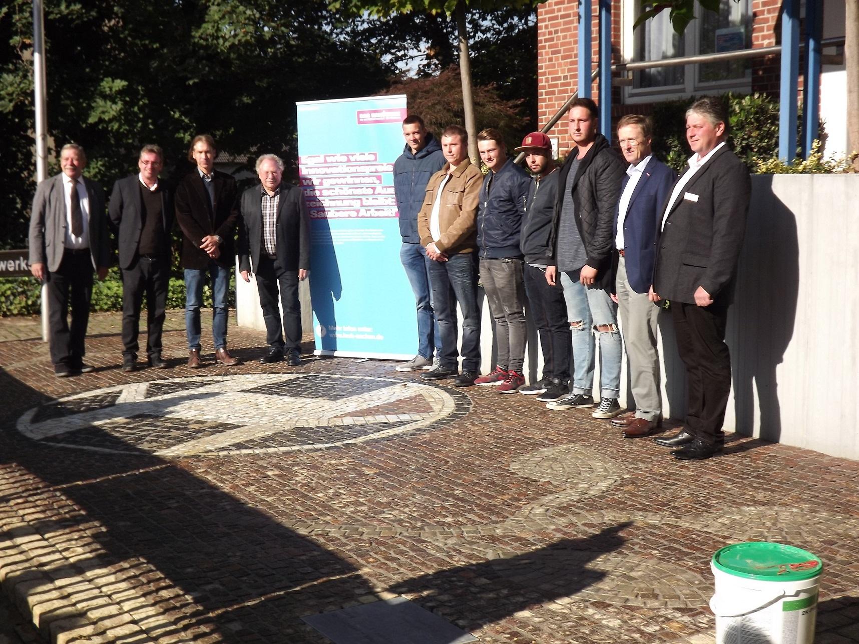 Straßenbauer-Aktion zum Tag des Handwerks