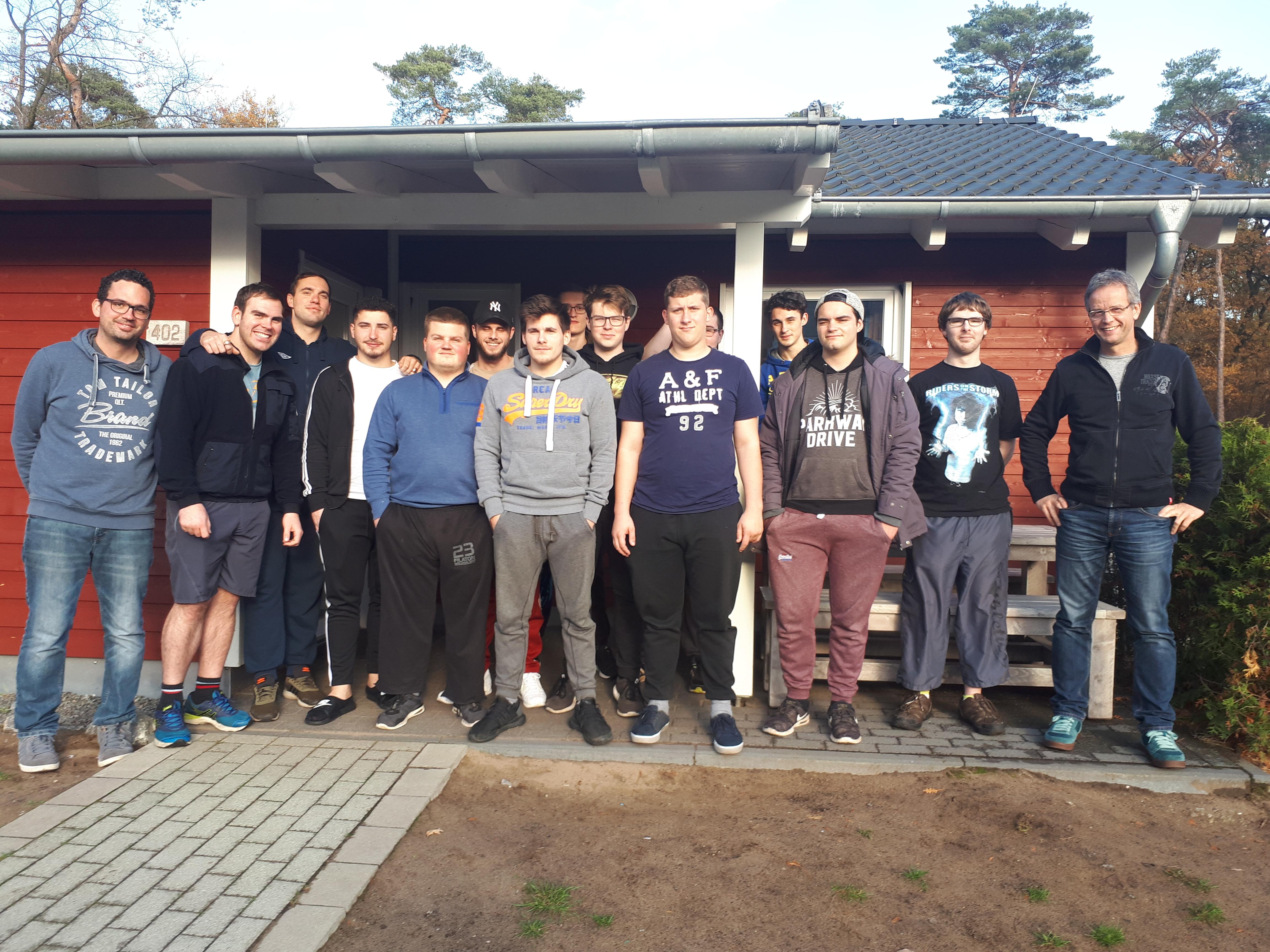 Lernfahrt der Metallbau-Abschlussklasse 2018 nach Haltern am See