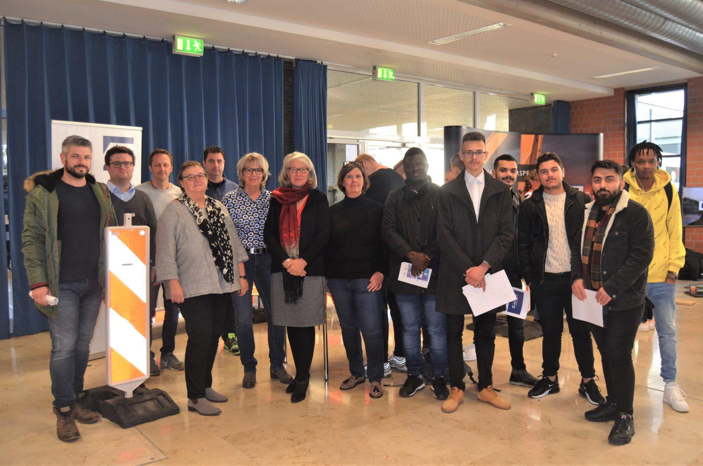 Berufs-Informationsbörse der Geilenkirchener Berufskollegs: Erfolgreiche Premiere